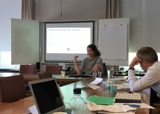 Daria Krivonos presenting